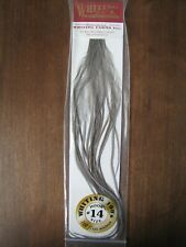 Fly Tying-Whiting 100/'s Saddle Hackle Light Ginger sz #20