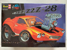 New Factory Sealed Revell Deal's Wheels Zzzzz-28 Chevy Camaro 1/25 Model Kit