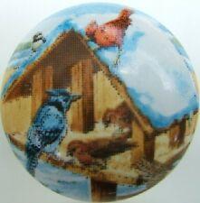 Ceramic Cabinet Knobs Knob Cardinal Bird Birds Birdhouse domestic