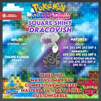 Ultra Shiny Dracovish | Pokemon Sword & Shield | 6IVS | Level 100 | Competitive