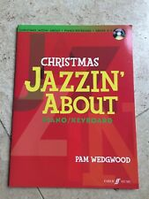 Christmas Jazzin' About Piano/Keyboard Grade 3-5 CD INCLUDED