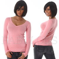 New Women's Ladies Jumper Sweater Knit Top Party Casual Wear Size 6 8 10 XS S M