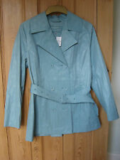 brand new per una marks and spencer green mac jacket size 12