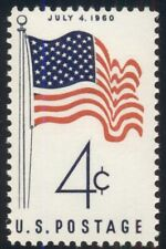 #1153, 4¢ 50 Star Flag, Lot 400 Mint Stamps, Spice Your Mailings!