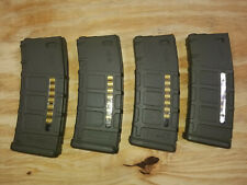 Airsoft AEG Parts - Mid Cap Magazines - PTS - Set of 4 - AIRSOFT ONLY