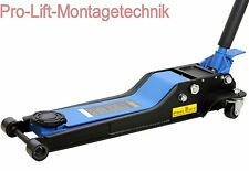 1,5t rangierwagenheber extra plana de 75mm garaje Floor Jack Blue/bl. jg15slj 02174