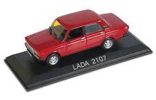 LADA VAZ  2107 red ( 1986 ) -- 1/43 -- IXO/IST -- NEW - NEU