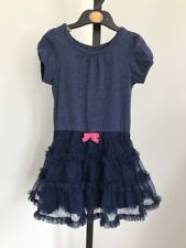 Blue Summer Party Dress With Tutu Skirt Mesh Age 5 Cherokee