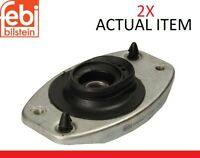 2X FEBI BILSTEIN FRONT AND SHOCK ABSORBER TOP MOUNT CUSHION SET 12082