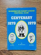 More details for warrington centenary 1979 rugby league brochure
