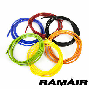 4mm Silicone Vacuum Hose - Tube Pipe Hose Turbo Boost Water Air Coolant Valve