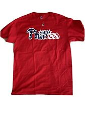 Philadelphia Phillies Majestic Brand Mens S/S T Shirt, Sz Large,100% Cotton,NWOT