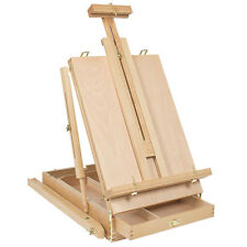 Art Supply Folding Easel Beech Sketch Box Dhx-M Portable Durable Tripod Wood New