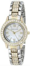 Anne Klein Watch * AK 1493MPTT Mother of Pearl 2 Tone Steel COD PayPal