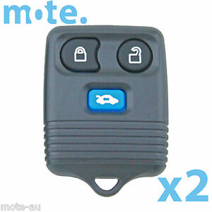 2 x To Suit Ford Explorer Escape Transit 04-06' Remote Replacement Shell/Case