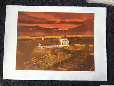 "JOHN BRUNSDON RE 1933-2014 Limited Ed ETCHING ""Church of the Salute Ed 44/150"