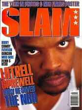 SLAM Magazine, Issue #36 Latrell Sprewell Cover, Mint **RARE**