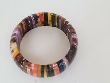 Boutique  Multi-color Wood Bangle Collections