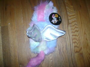 NWT thrills & chills Dog Apparel UNICORN PET COSTUME OUTERWEAR PINK Size S
