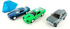 (Lot Of 3) Johnny Lightning Cars Jeep Compass & 2 Chevy Camaro Monopoly