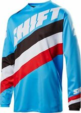 SHIFT WHITE LABEL TARMAC SMALL BLUE JERSEY MOTOCROSS OFFROAD 2017 NOT FOX