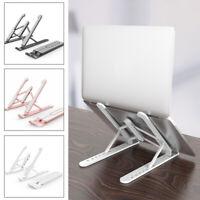 Adjustable Laptop Stand Portable Desktop Holder Office Desk Riser for Notebook