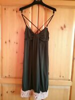 MISS SIXTY LADIES BLACK AND PINK DRESS SIZE XS UK 6