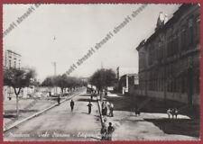 TARANTO MANDURIA 08 SCUOLE Cartolina viaggiata 1941 REAL PHOTO