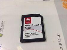NISSAN SAT NAV SD CARD FOR CONNECT 1 LATEST CARD 2017 v7 MAPS GENUINE