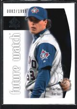 MIKE SMITH 2002 SP AUTHENTIC #96 FUTURE WATCH RC BLUE JAYS #0082/1999