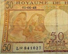 50 Francs, 1948 50 Frank Belgïe Billet, Belgique #F6#