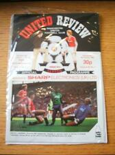 06/10/1982 Manchester United v Bournemouth [Football League Cup] (Token Missing)