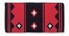 Mayatex Western Horse Show Saddle Blanket pad RED Black Apache 36x34