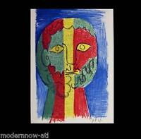 P. PICASSO Lithograph Ltd Ed.106/150 Wtrmk ARCHES + C. Ref. c118* +Custom FRAME