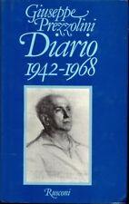 DIARIO 1942-1968 GIUSEPPE PREZZOLINI A185
