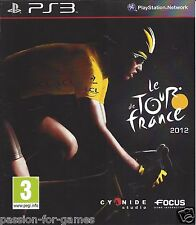 LE TOUR DE FRANCE 2012 for Playstation 3 PS3 - with box & manual