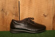 SAS 'Traveler' Brown Leather Oxfords Comfort Walking Shoes Women's Sz. 8 WW