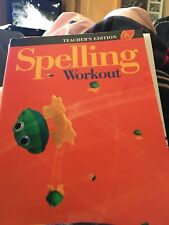 Spelling Workout A Teachers Edition