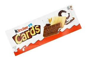 5x boxes Kinder Cards 🍫 640g | 1.4lbs from Germany ✈ TRACKED SHIPPING