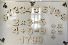 Educational Toy Wooden Fridge Magnets For Kids Numbers