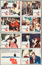SHIP OF FOOLS - COMPLETE SET OF 8 LOBBY CARDS - IN MINT CONDITION - WON 2 OSCARS