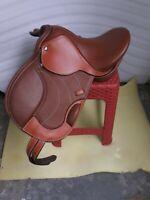 12'' pony English jumping all-purpose saddle