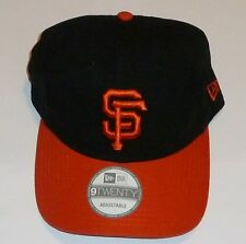 San Francisco Giants MLB NEW ERA Cap hat Adjustable Licensed 20 + Available