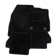 Tailored Black Velour Carpet Car Floor Interior Mats for Honda FR-V 04-09 (6 Pc)