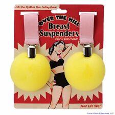 Over the Hill Boobies Boob Breast Suspenders - Joke Gag Gift - BigMouth Inc