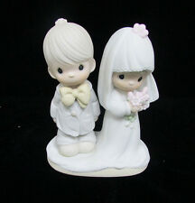 Bride Wedding Marriage Precious Moments Figurine The Lord Bless You and Keep You