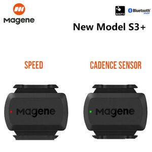 ANT+Bluetooth Bike Speed Cadence Dual Sensor For Garmini210 Edge bryton Gps