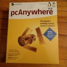 Symantec pc anywhere  11.5 SEALED! WINDOWS LINUX