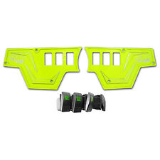 50 Caliber Racing Polaris Rzr Xp1000 Lime Squeeze Dash Switch Panel Plate Rzr4