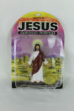 Jesus Action Figure Poseable Arms Gliding Action Accoutrements 2001 Damaged Box
